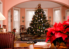 one of the highlights of the christmas in st michaels weekend is the tour of homes in one of the longest running home tours in maryland both historic