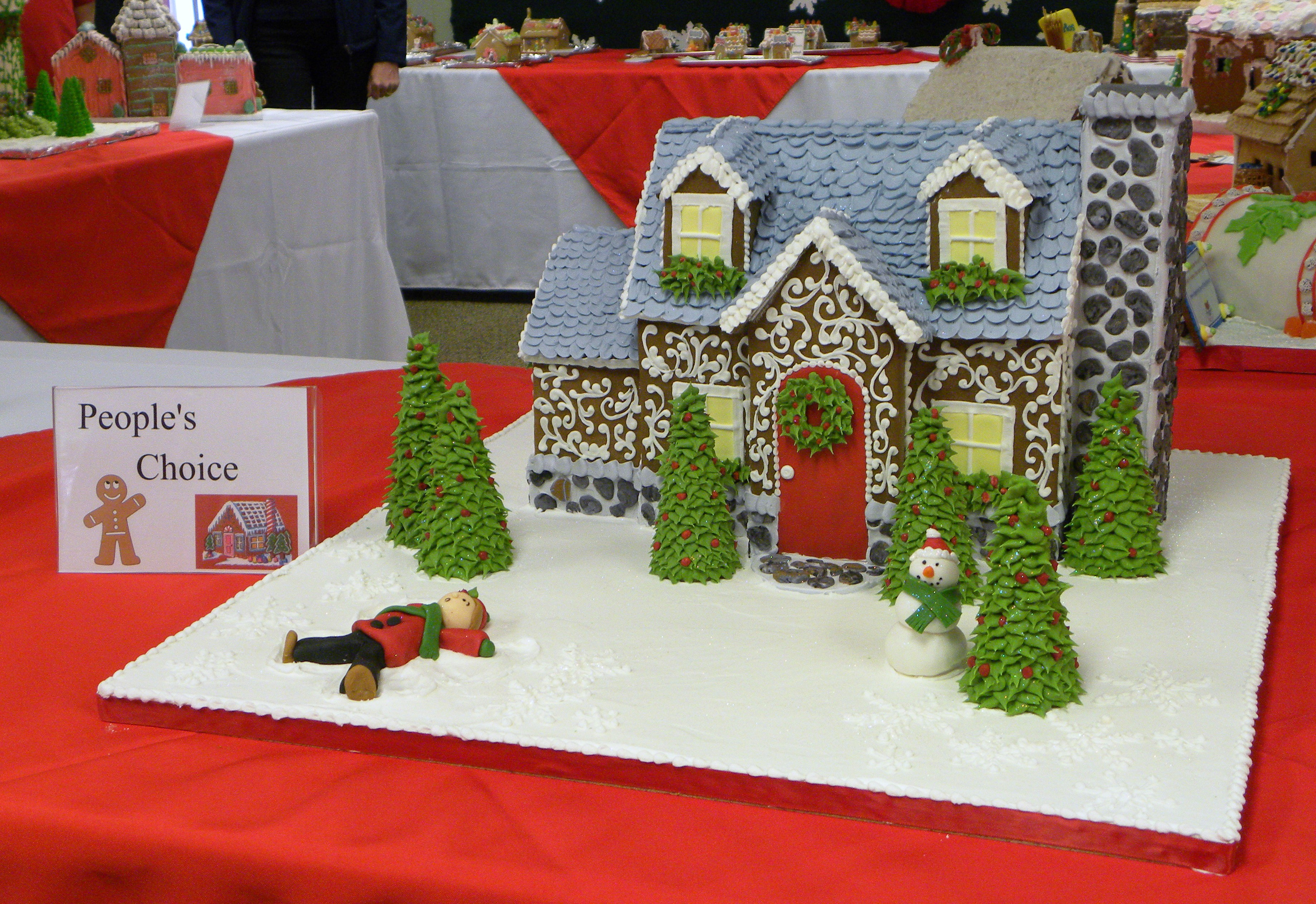 Gingerbread House Competition And Display Christmas In St Michaels