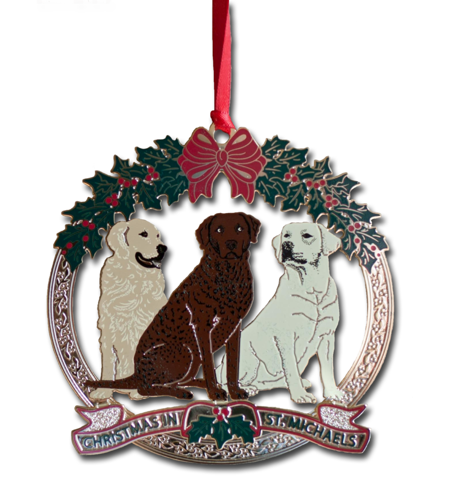 The Christmas In St Michaels 2017 Ornament